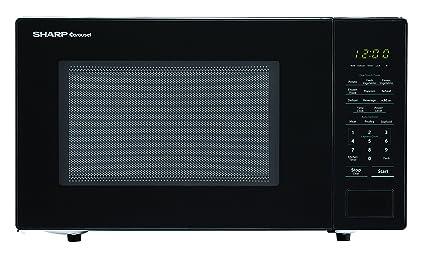 amazon com sharp microwaves zsmc1131cb sharp 1 000w countertop rh amazon com Sharp Microwave Drawer Oven Sharp Microwave Thermal Fuse