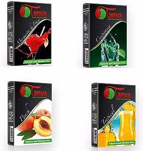 Tanya (Packs) Shisha Herbal 50G Flavor 100% Nicotine and Tobacco Free (4)