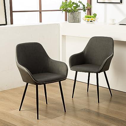 Amazon Com Roundhill Furniture C281gy Horgen Contemporary Faux