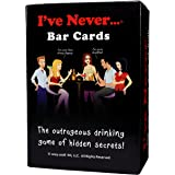 I've Never Bar Cards: Party Game for College Reunions Fraternities Sororities Bachelor Bachelorette 21st Birthday Parties