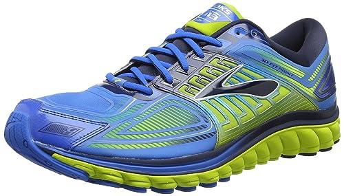 a6f8d9844d0 Brooks Men s Glycerin 13 Electric Blue Lemonade Lime Punch Dress Blues  Athletic Shoe