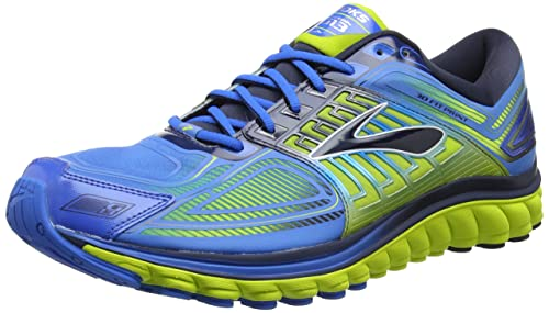 e20bffebb54ba Brooks Men s Glycerin 13 Electric Blue Lemonade Lime Punch Dress Blues  Athletic Shoe