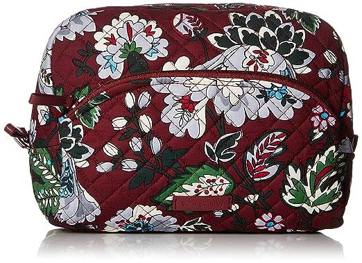 Amazon.com  Vera Bradley Iconic Large Cosmetic 97583d003ed87