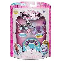 Twisty Petz – 3-Pack – Razzle Elephant, Cakepup Puppy and Surprise Collectible Bracelet Set for Kids