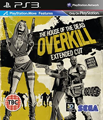 Amazon Com House Of The Dead Overkill Sony Playstation 3 Ps3 Game