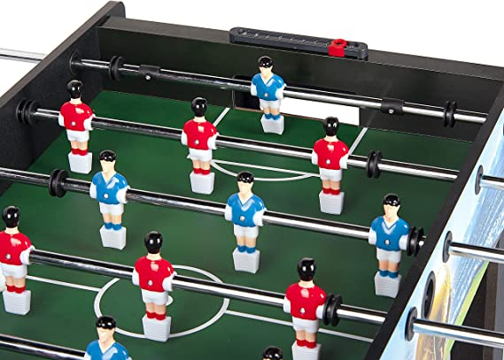 Leomark Futbolín Para Niños Futbolín Madera Juego De Mesa ...