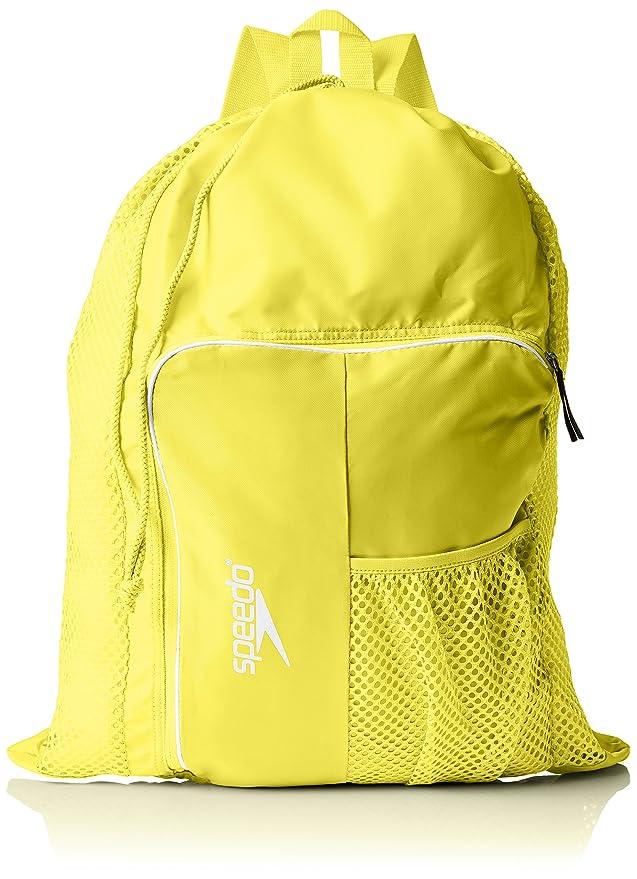 Speedo Deluxe Ventilator Mesh Mochila, Unisex Adulto, Amarillo (Yellow), 24x36x45 cm (W x H x L): Amazon.es: Deportes y aire libre