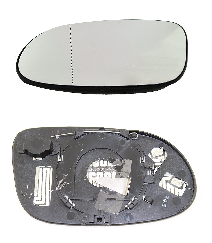TarosTrade 57-0134-L-46656 Vetro Specchietto Retrovisore Riscaldabile Lato Sinistro