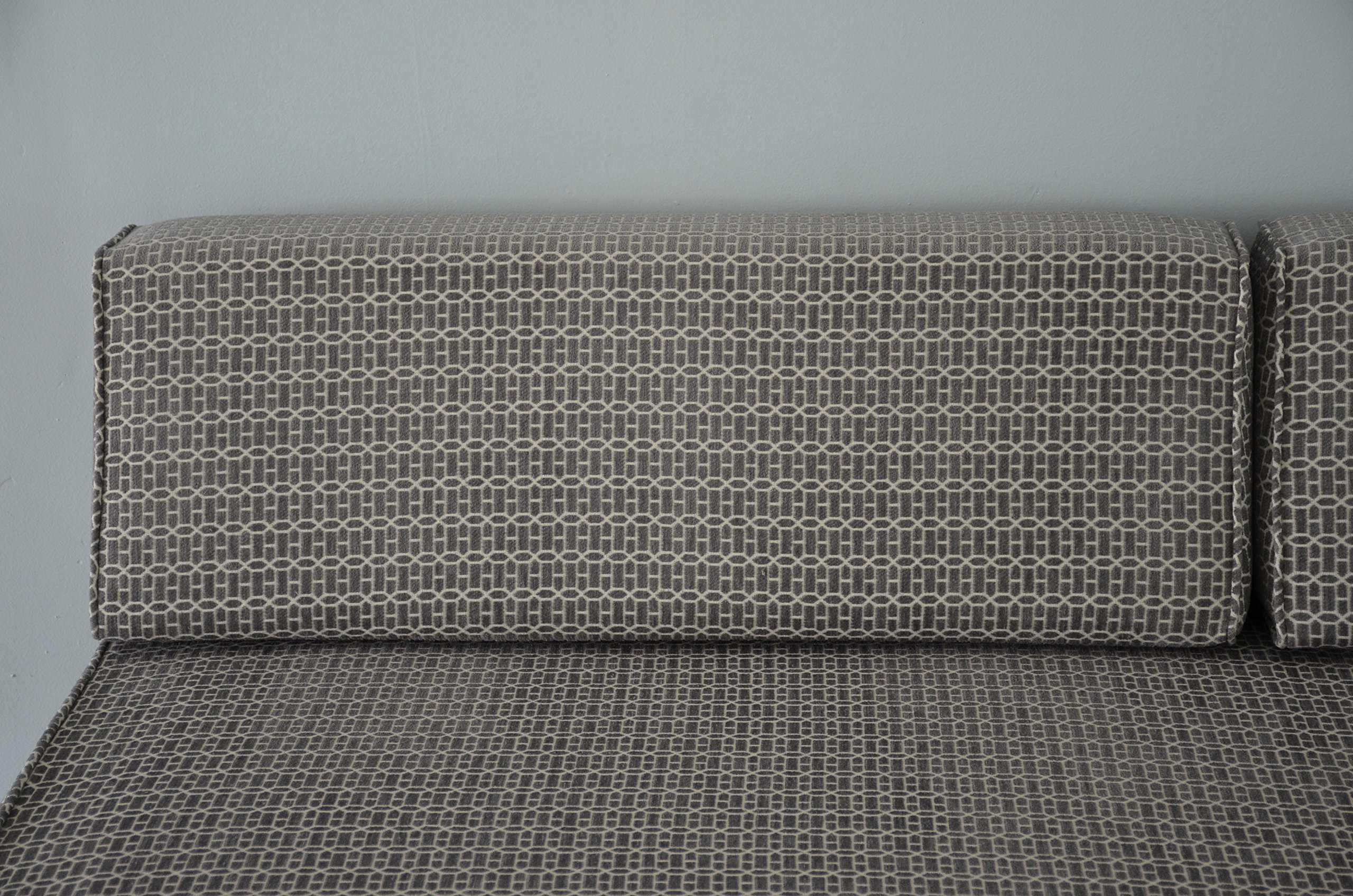 Wedge Bolster with Cover XL (Gateway Chenille Grey) by DQP