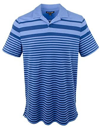 Michael Kors Mens Open Placket Polo Shirt-BM-XL: Amazon.es: Ropa ...