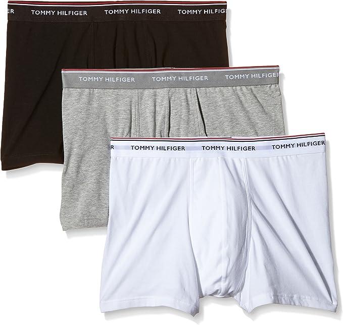Tommy Hilfiger 1U87905252, Bóxer para Hombre, Pack de 3: Amazon.es ...