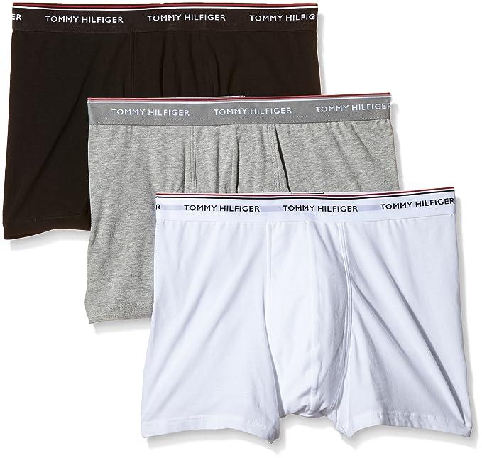 Tommy Hilfiger 1U87905252, Bóxer para Hombre, Pack de 3: Amazon.es: Ropa y accesorios