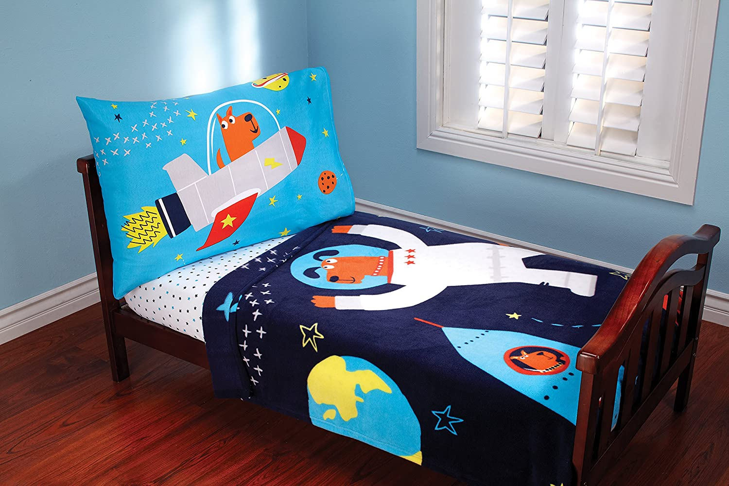 Uncategorized Space Toddler Bed amazon com carters 3 piece toddler set space adventure baby