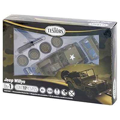 Testors 630019NT Prepainted Metal Car Model Kit, Green: Arts, Crafts & Sewing