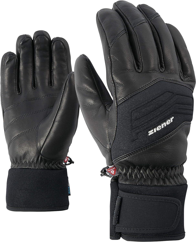 Guanti da Sci//Sport Invernali Traspiranti Glove Ski Alpine Ziener Gowon As r Uomo Impermeabili