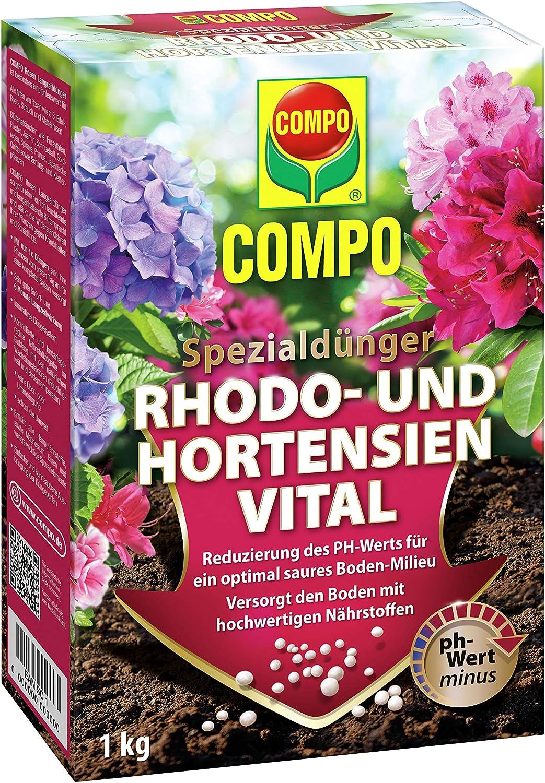 Compo Vital para Hortensias & Rododendros 1kg