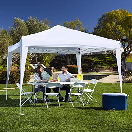 d27b3bc385a3 Best Choice Products SKY2610 pop up Canopy, Large, White