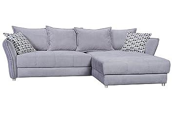 Hti Living Wohnlandschaft Mit Recamiere Maja Couch Sofa Neu Ovp