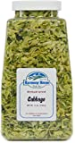 Harmony House Foods, Dried Cabbage, Flakes, 12 Ounce Quart Size Jar