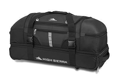 High Sierra Evolution Wheeled Drop Bottom Duffel Bag
