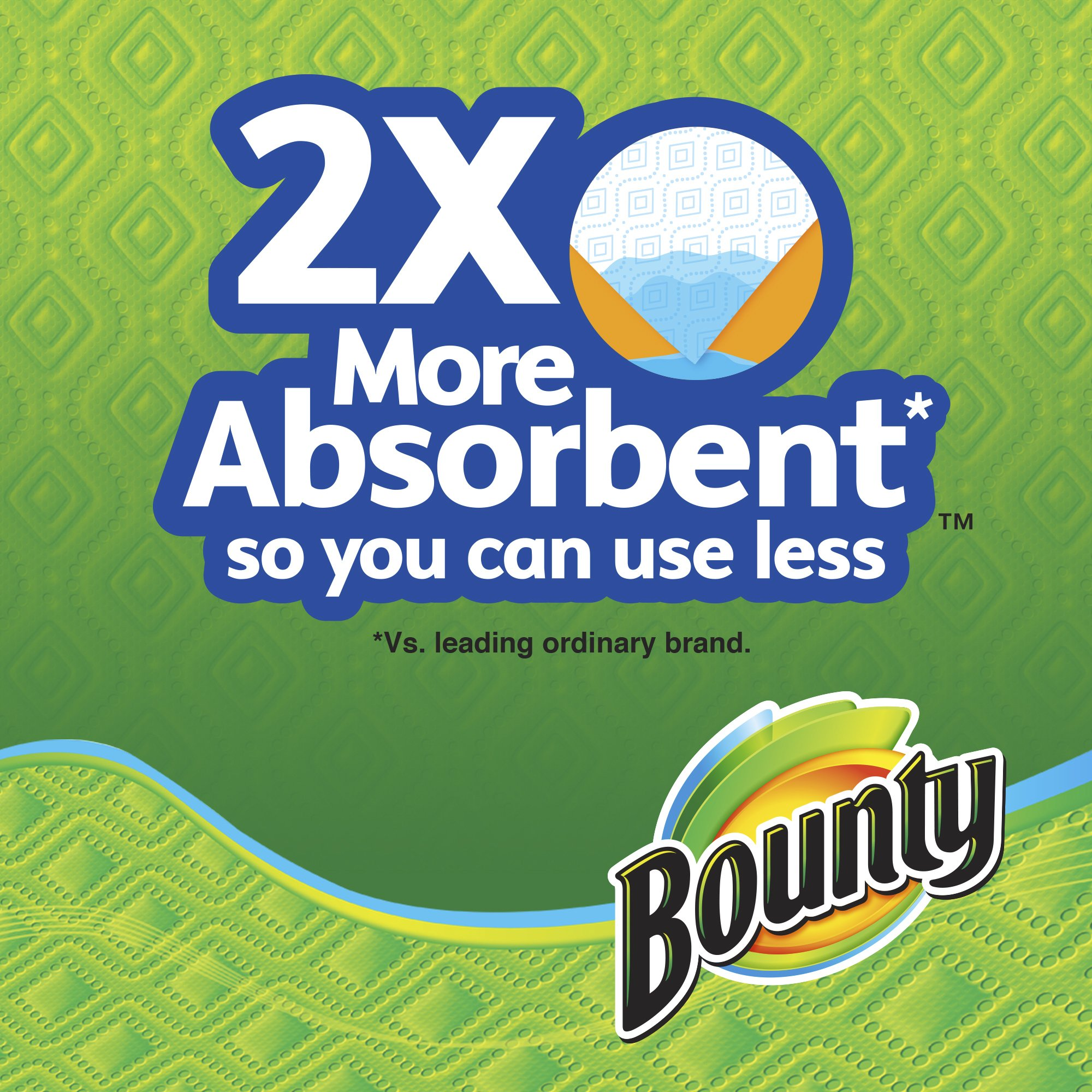 Bounty Select-A-Size Paper Towels, 12 Huge Rolls by Bounty (Image #3)