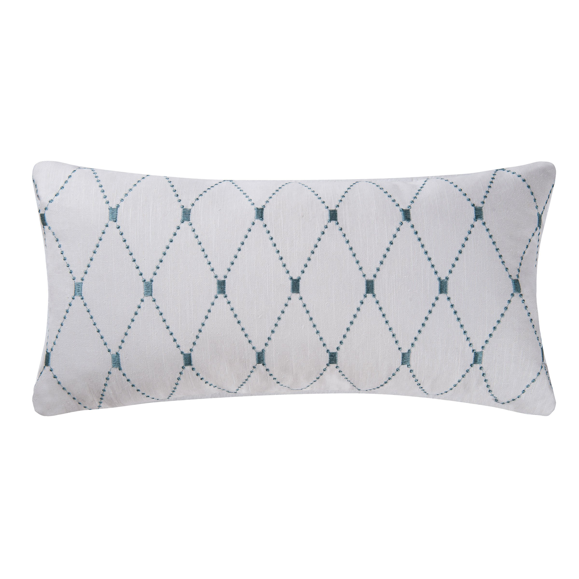 Aqua Diamond Pillow