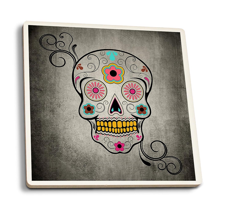 【通販激安】 シュガースカル 9 x 12 Art Print LANT-47583-9x12 B01FOLTUGO  4 Coaster Set 4 Coaster Set, 遠赤青汁オーガニック生活 9eaf6eb6