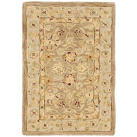 Exceptional Safavieh Anatolia Collection AN522B Handmade Traditional Oriental Tan And  Ivory Wool Area Rug (2u0027