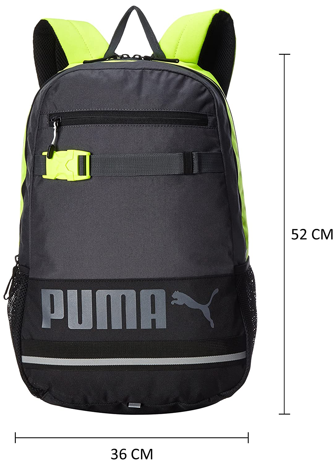 dd25ae36b2 Puma Deck Backpack 24 Ltrs Grey Casual Backpack (7339320)  Amazon.in  Bags
