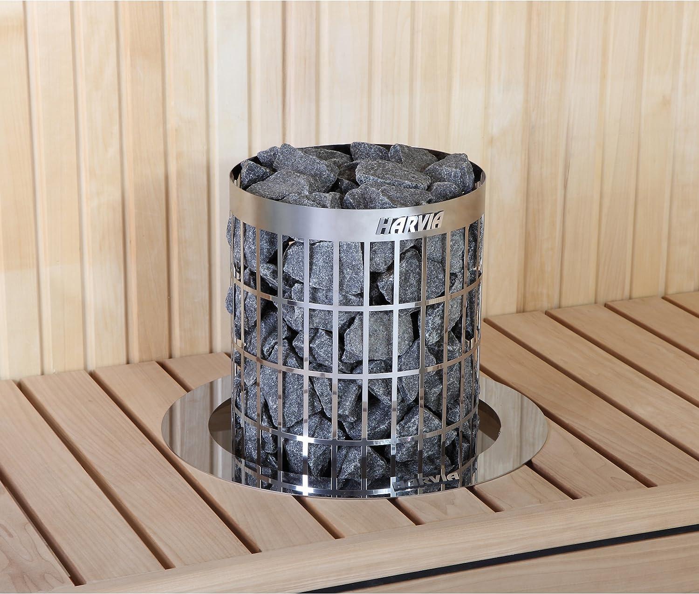 Einbaurahmen f/ür den Ofen Cilindro aus Aluminium