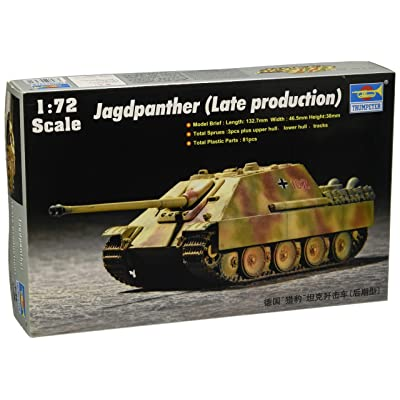 Trumpeter 1/72 Jagdpanther Late Tank: Toys & Games