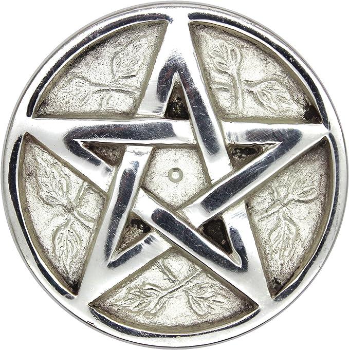 AzureGreen RPEN4 4 in Pentagram Altar Tile