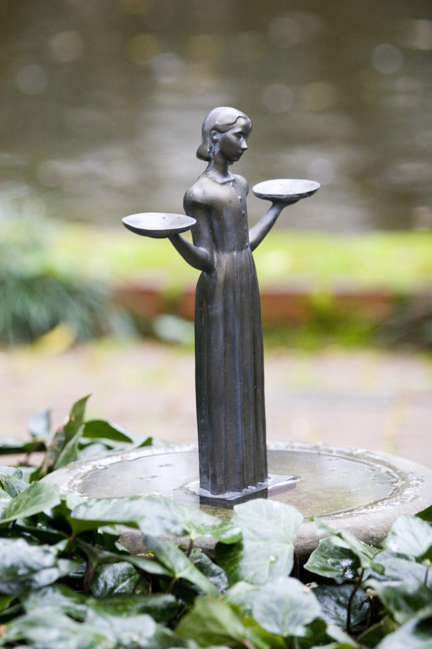 Bird Girl Miniature Statue ''15h by Potina.