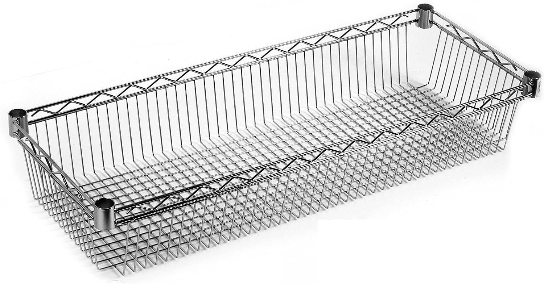 36.00 x 36.00 x 4.00 cm Archimede Sistema Componibile Grigio Ripiano Triangolare Cromato