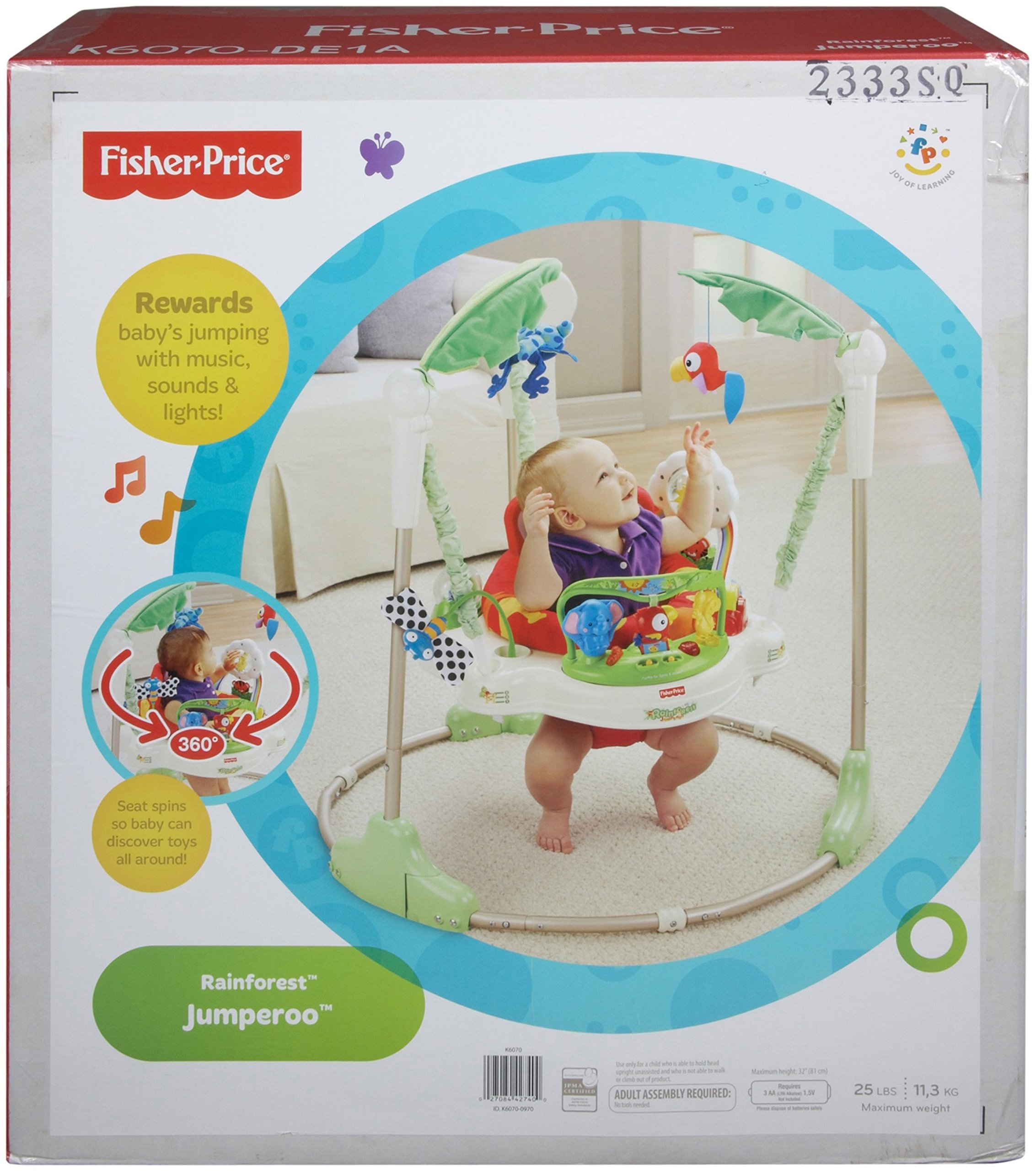Fisher-Price Rainforest Jumperoo by Fisher-Price (Image #5)