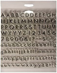 Fiskars Alpha Basic Clear Stamps (12-89188897J)