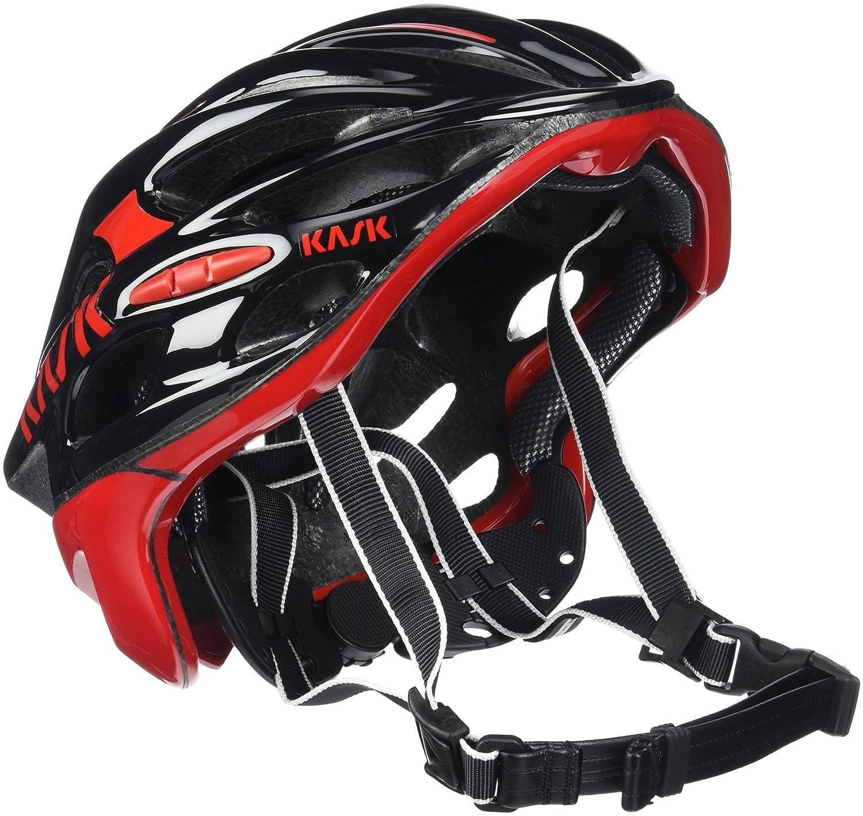 [カスク] ヘルメット MOJITO モヒート BLK/RED Large  B0172GB4KY