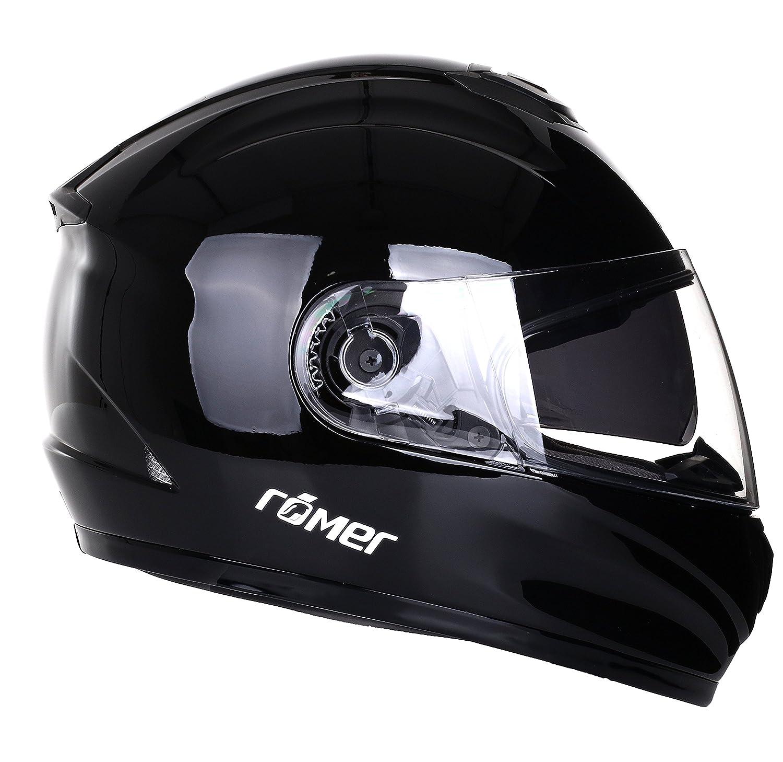 Rö mer Helmets Motorradhelm Bonn, Schwarz/Glä nzend, Grö ß e XL H&H Sports Protection srl 200505