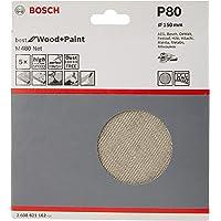 Bosch 2608621149-000, Disco Lixa Boschnet GR220-5X, Branco, 125 mm