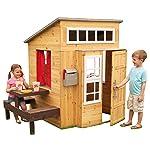 5. KidKraft Modern Outdoor Playhouse