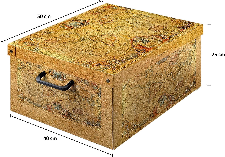 Kanguru Caja de Almacenamiento en cartòn Lavatelli, Modelo Marco ...