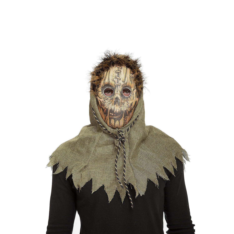 My Other Me Me - Máscara espantapájaros terrorí (Viving Costumes 204573): Amazon.es: Juguetes y juegos