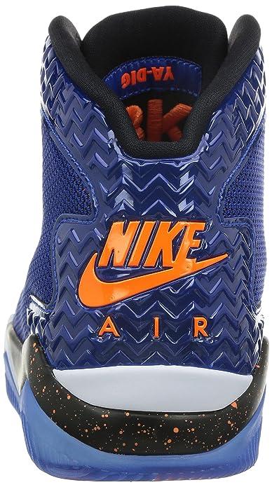 Amazon.com | Nike Jordan Mens Air Jordan Spike Forty PE Game Royal/Ttl Orng/White/Blk Basketball (10.5) | Basketball