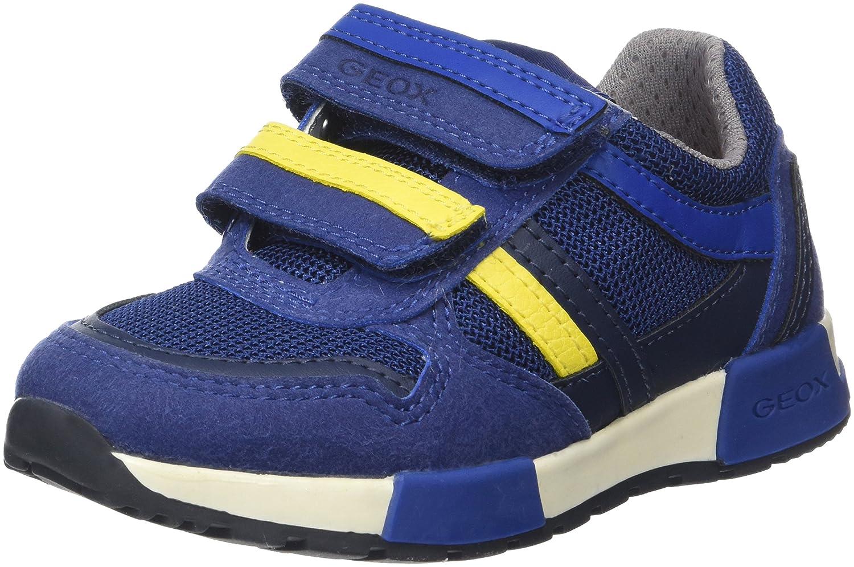 Geox Alfier C J, Des Chaussures Pour Enfants, Bleu (bleu / Jaune) 37 Eu