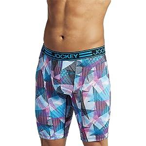 Jockey Men's Underwear Sport Stretch Tech Performance Midway