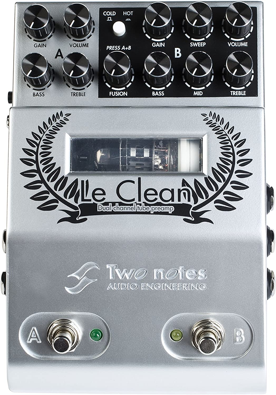 Two Notes Le Clean Dual Channel Preamp · Pedal guitarra eléctrica