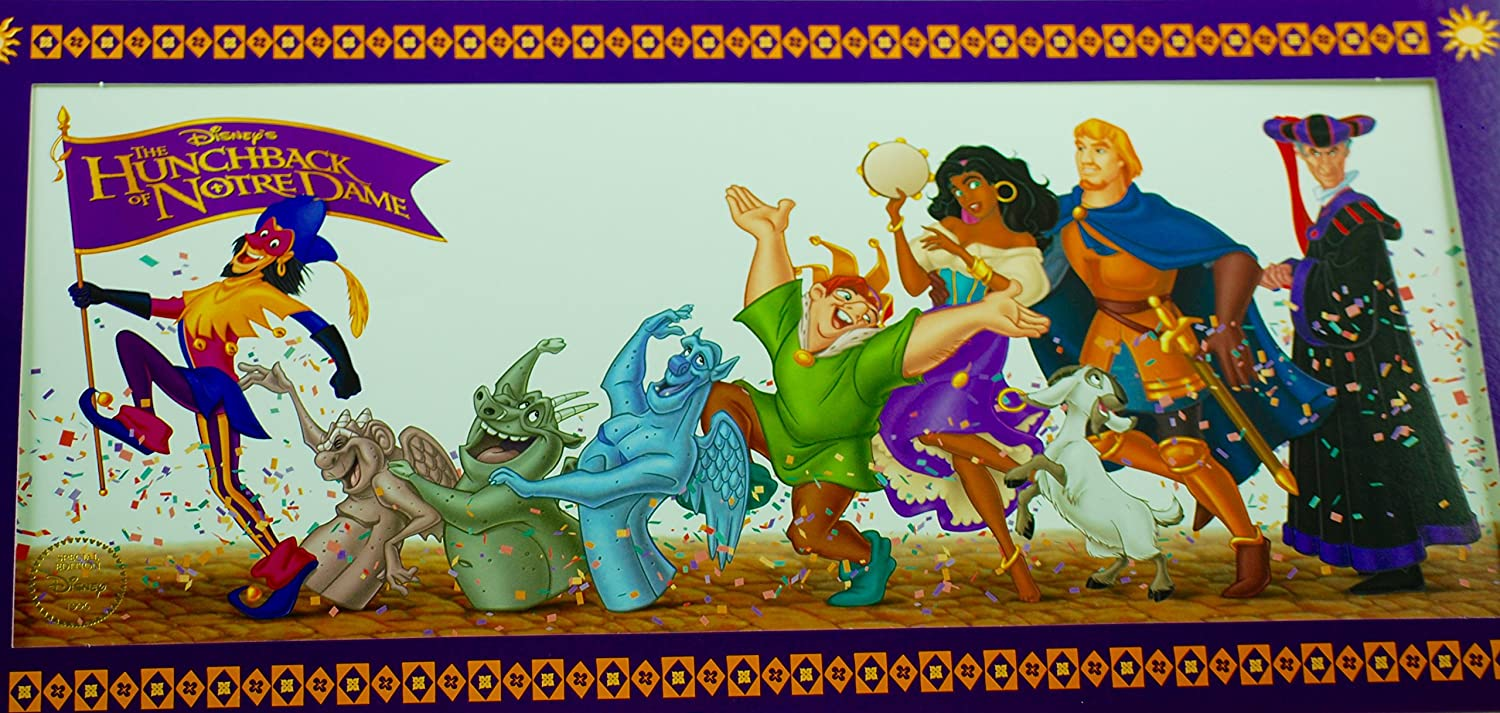 Amazon Com Disney 1996 Hunchback Of Notre Dame Special Ed Lithograph Store Prints Posters Prints