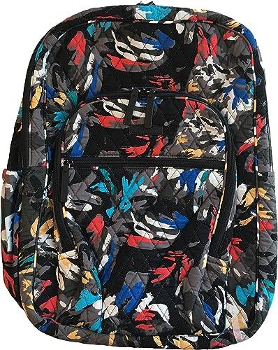 Vera Bradley Large Campus Backpack Splash Floral