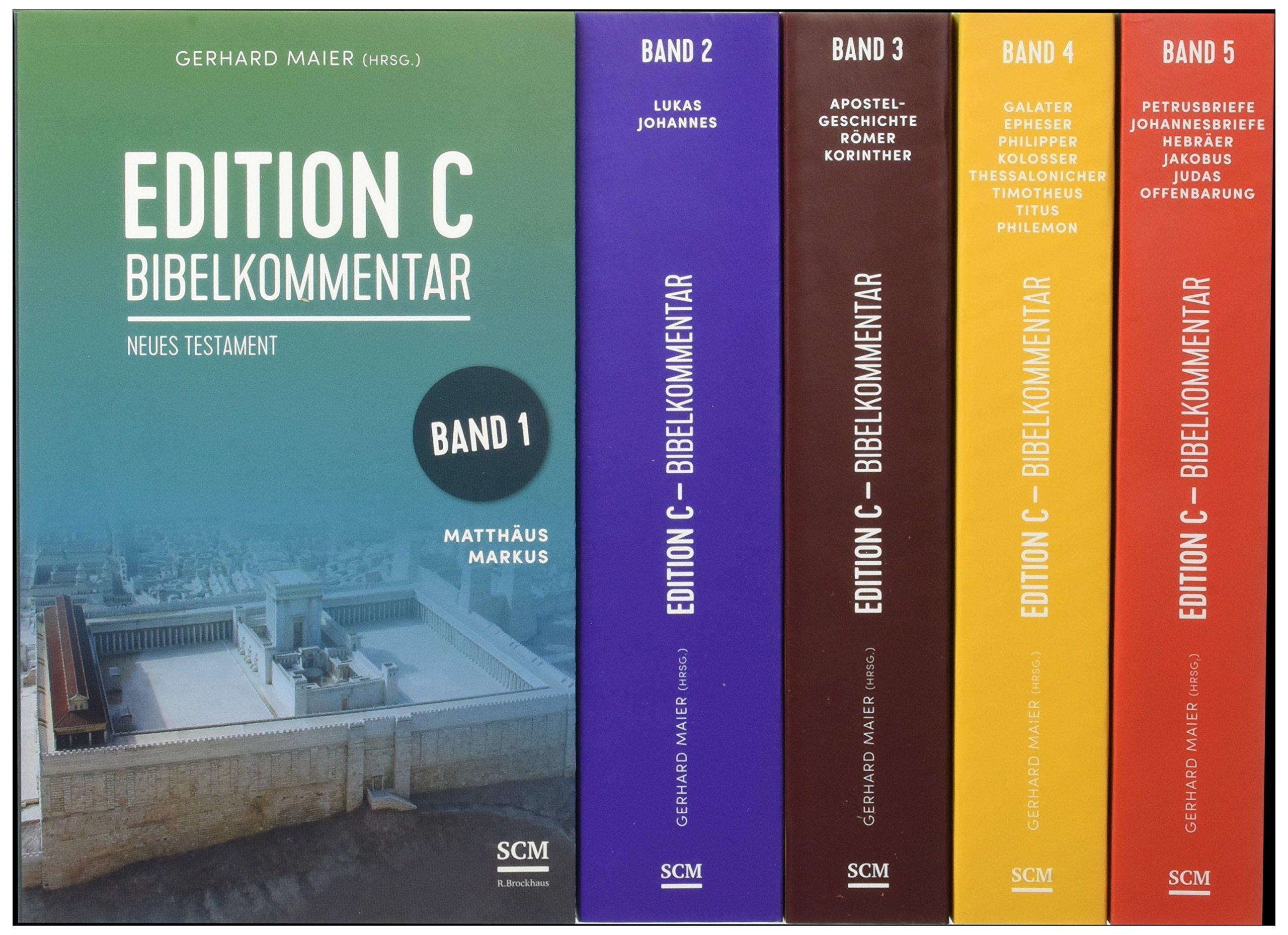 Edition C Bibelkommentar Neues Testament Gesamtausgabe Im Schuber