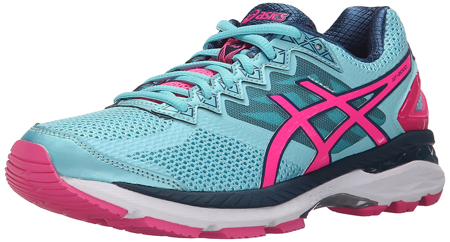 Asics Women's Gt-2000 4 Ankle-High Tennis Shoe B00YBEAHG8 Turquoise/Hot Pink/Navy 6 B(M) US 6 B(M) US|Turquoise/Hot Pink/Navy